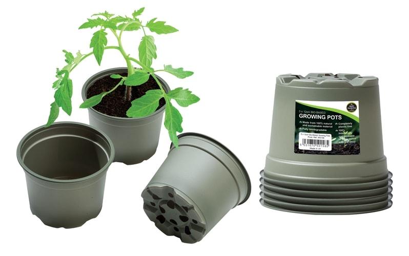 New Bio-Based Growing Pots