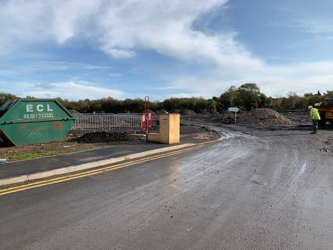 New Midlands Warehouse Construction Begins