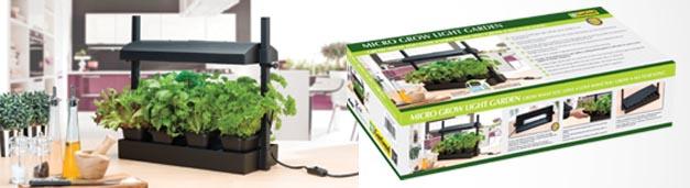 Our New Micro Grow Light Garden