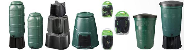 Our New Range Of Water Butts & Composters