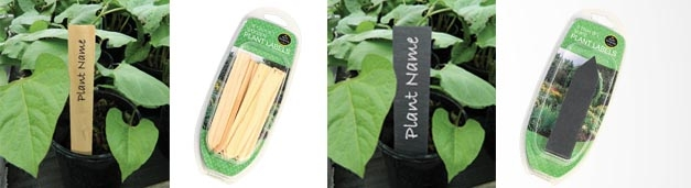 Our New Plant Labels