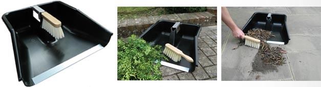 Our New Jumbo Patio Pan & Brush