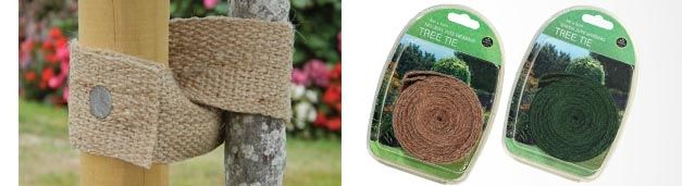 Our New Jute Webbing Tree Ties