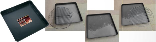 Our New Barbecue Grill Soaker Trays