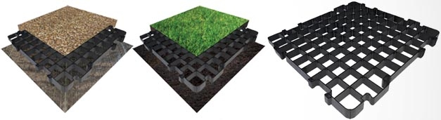 Our New Path & Patio Gravel Grids