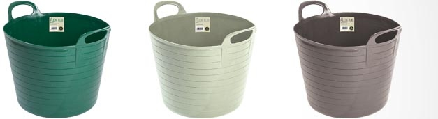 Our New 14ltr Flexi Tubs