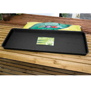 grow bag tray black
